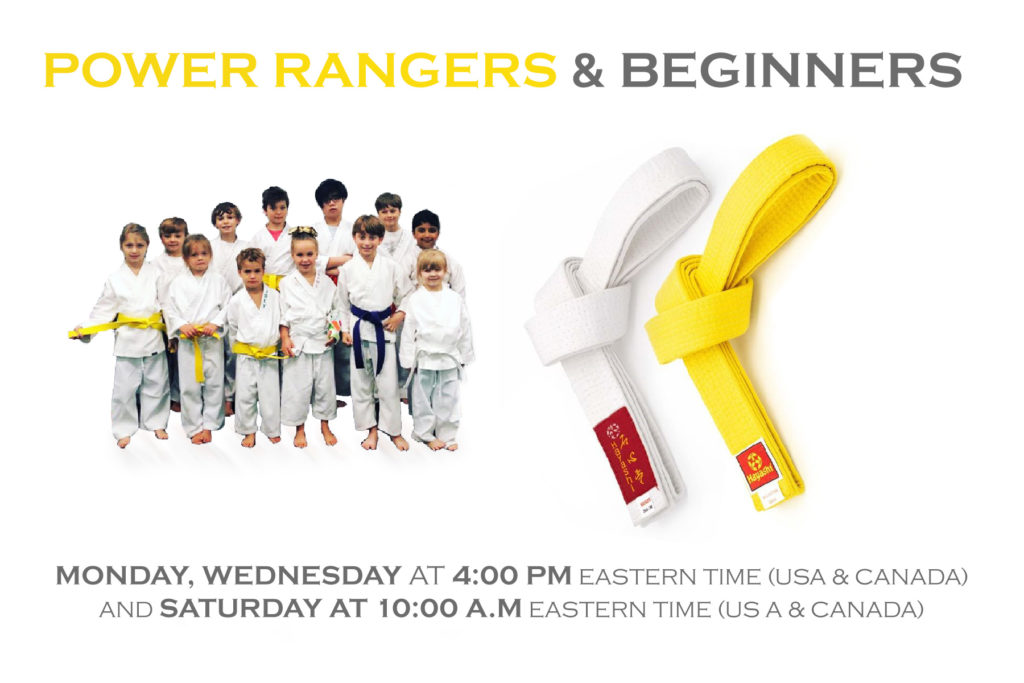 Power Rangers and Beginners